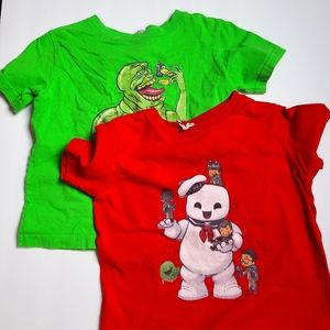 Retro Ghostbusters Tees 2T